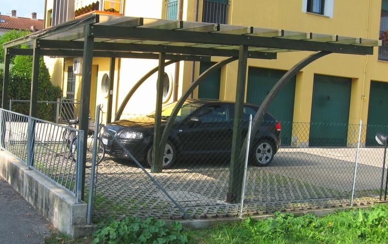 Copertura In Legno Per Auto : Tettoie per auto guerrini legnami